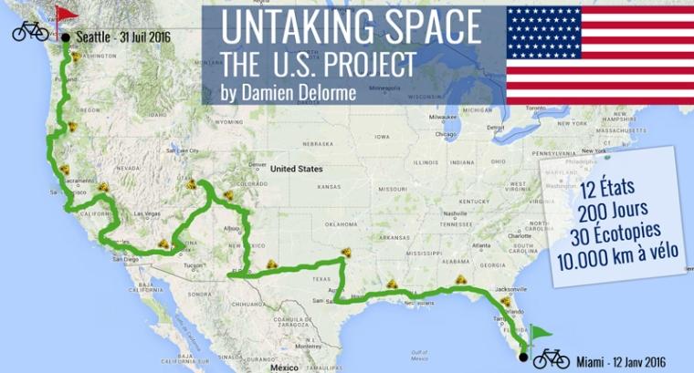 Untaking Space - Un parcours écotopique