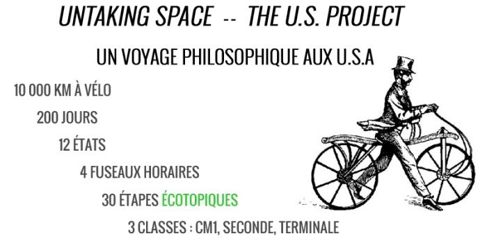 Untaking Space - Un voyage philosophique aux U.S.A