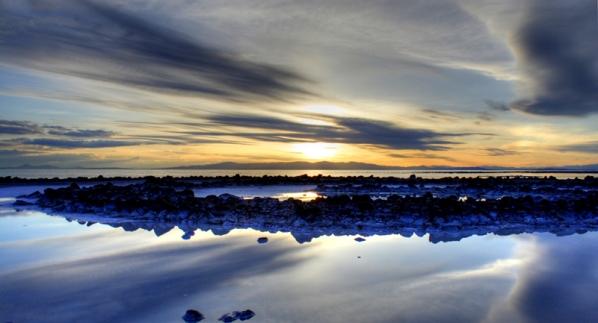 Land Art_Spiral Jetty, Robert Smithson, Great Salt Lake, Utah_2013