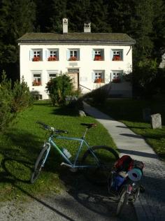 Maison de F. Nietzsche, Sils Maria, Haute Engadine, Tour de Suisse 2012