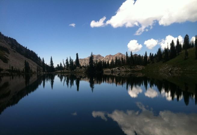 Red Pine Lake, Wasatch Ranch, Salt Lake City, Utah_2013