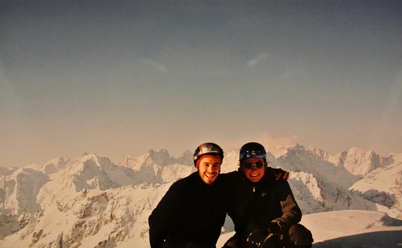 Sommet du Grand Galibier, Savoie, 2006