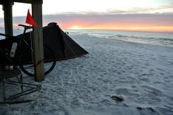 Campement à Navarre Beach_usproject2016.com