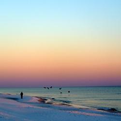 Navarre beach, lumières du crépuscule_usproject2016.com