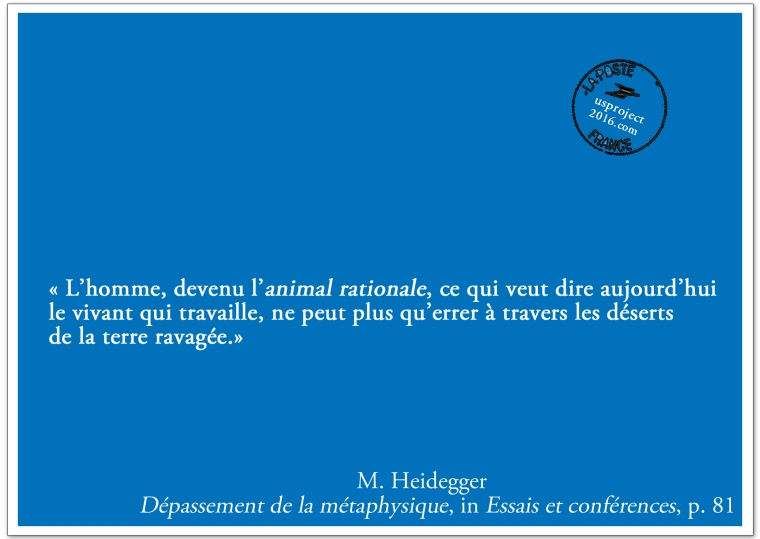 Carte Postale Heidegger_usproject2016.com