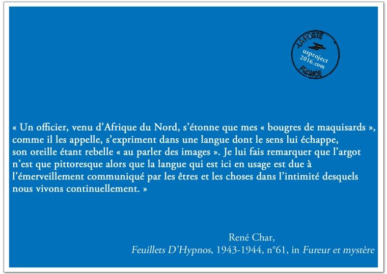 Carte Postale René Char_usproject2016.com