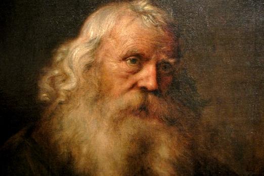 Jen Lievens, Portrait d'un vieillard barbu, 1640