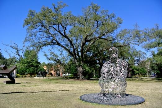 Statue NOMA Garden