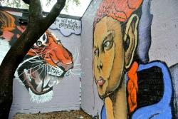 Street art in Denton