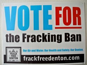 UNT Fracking Ban