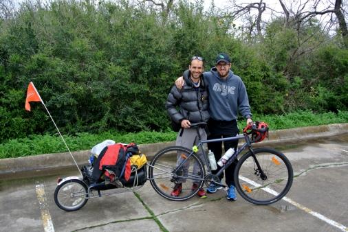Vélo avec Giovanni