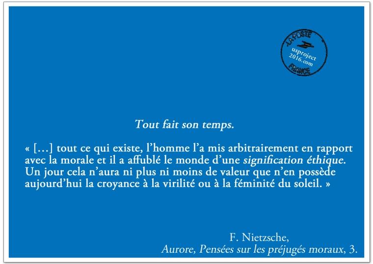 Carte Postale Nietzsche (Épilogue)_usproject2016.com