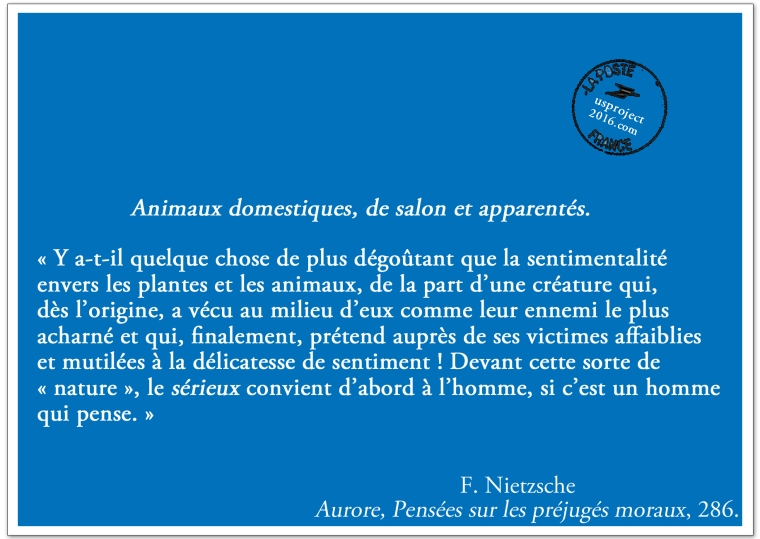 Carte Postale Nietzsche (II)_usproject2016.com