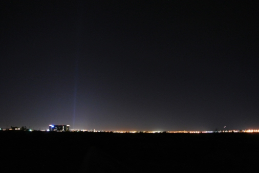 Las Vegas depuis le désert