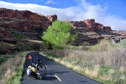 Moab bike Lane
