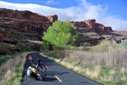 Moab bike Lane