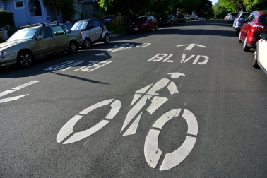 Berkeley Bike Boulevard