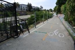 Bike trail LA