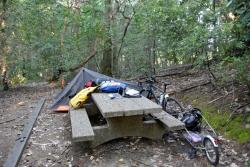 CRSP 11 campement