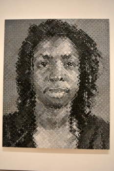 Chuck Close, Lorna, 1995, Oil on Canvas