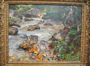 "John Singer Sargent, ""Trout Stream in the Tyrol"", 1914"