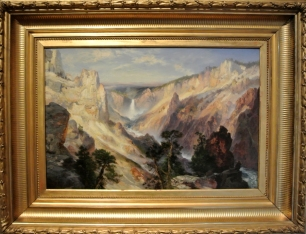 "Thomas Moran, ""Grand Canyon of the Yellowstone, Wyoming"", 1906"