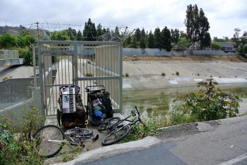 Homeless bicycle companions