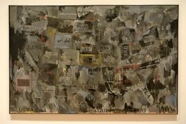Jasper Johns, Maps ou l'amérique sombre