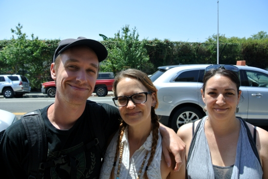 Keegan Kuhn et ses cousines
