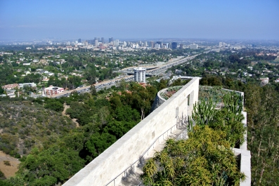 L.A. depuis Getty center