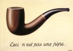 """""""La trahison des images"""", Magritte_1928–29, huile sur toile, 59 × 65 cm ; Los Angeles County Museum of Art"""