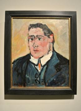 Vlaminck, Portrait de Guillaume Apollinaire