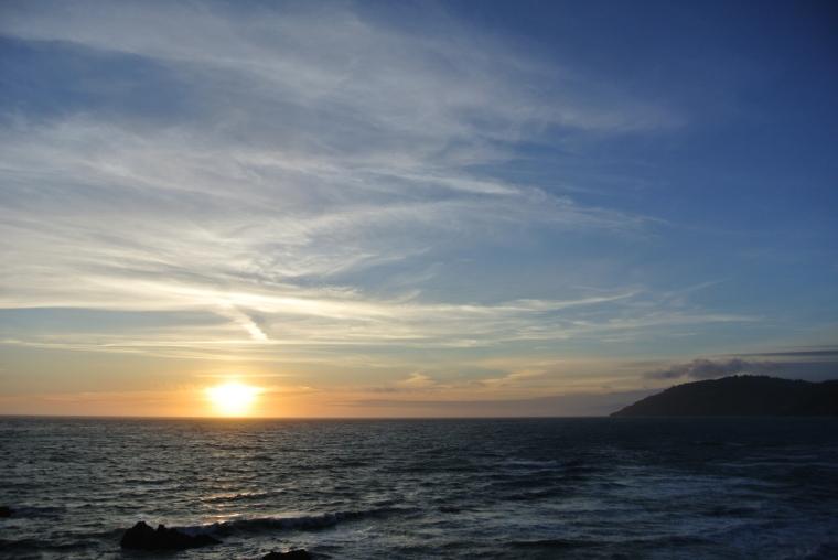 AP sunset