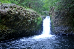 Cascade-plongeoir
