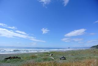 Redwood Creek beach