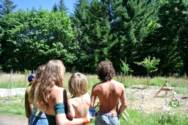 Visite de la fruit forest