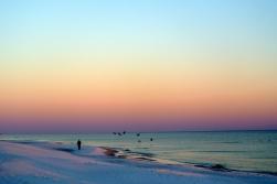 Navarre beach, lumières du crépuscules_usproject2016.com